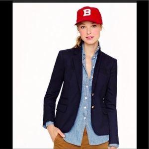 Like new J.crew navy school boy blazer wool
